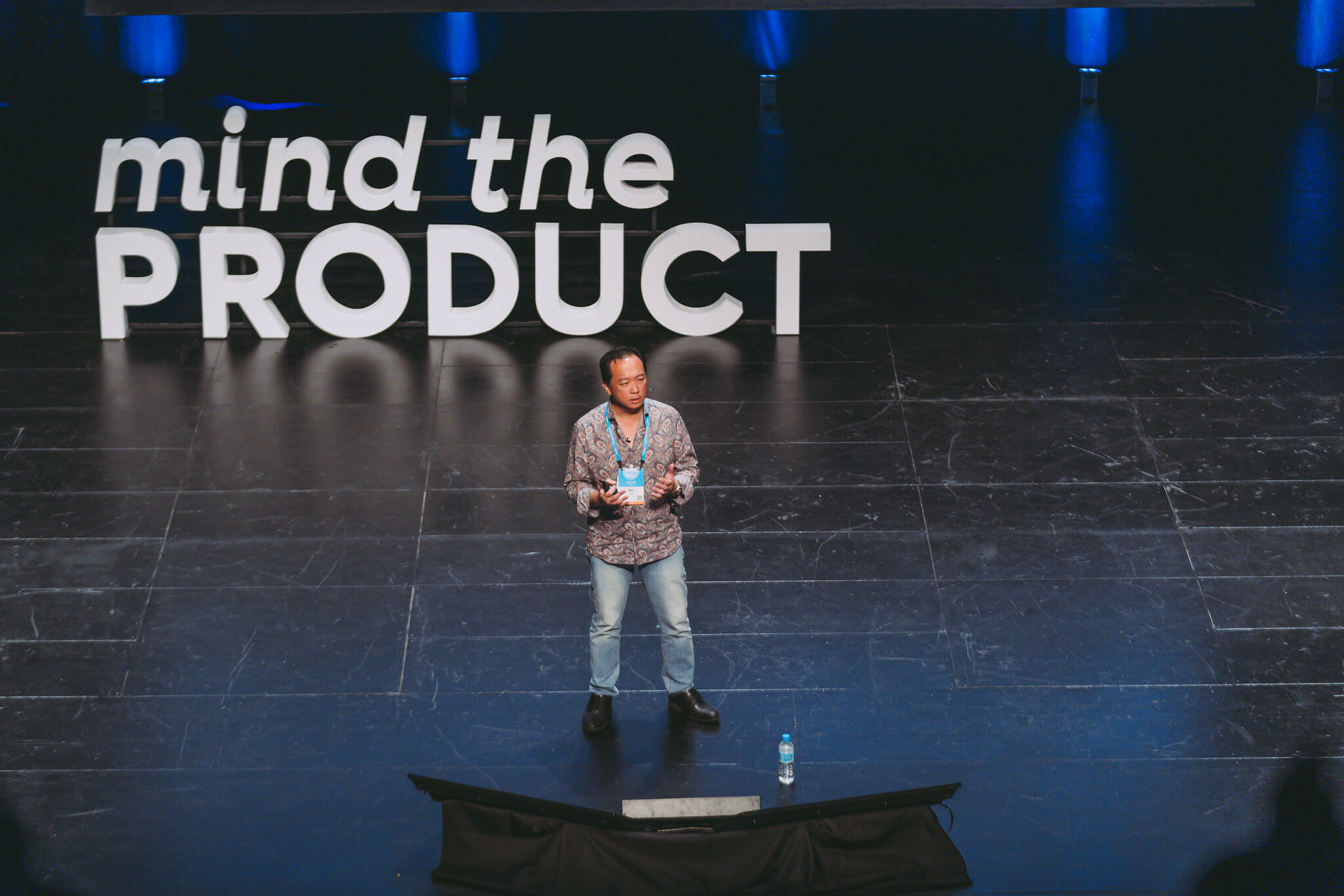 Kenneth Chin at Mind the Product Singapore 2019